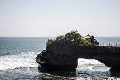 Havtempel Bali indonesia Pura Tanah Lot Arkivbild