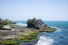 Havtempel Bali indonesia Pura Tanah Lot 2 Arkivfoto