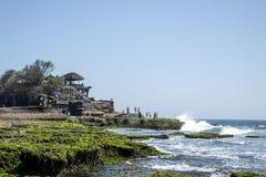Havtempel Bali indonesia Pura Tanah Lot 3 Royaltyfri Fotografi