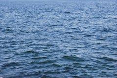 havtexturvatten Arkivfoto