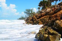 Havvågor Fotografering för Bildbyråer
