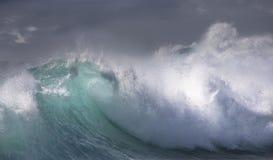 Havwave Arkivfoton