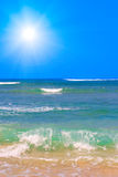 havwaves Arkivbild