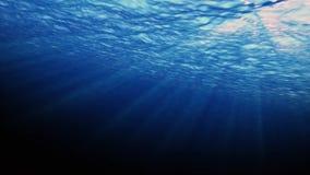 Havyttersidavatten som ses från undervattens- stock illustrationer