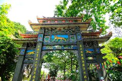 Haw Par Villa. Or known as Tiger Balm Garden is a Chinese mythological theme park in Singapore, located along Pasir Panjang Road Stock Photography