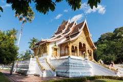 Haw Pha Bang Buddha temple of the National museum complex Stock Image