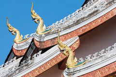 Haw Pha Bang Buddha temple of the National museum complex Royalty Free Stock Photos