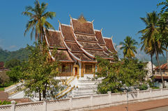 The Haw Pha Bang. Luang Prabang. Laos Royalty Free Stock Image
