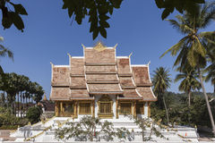 Haw Pha Bang in Luang Prabang Royalty Free Stock Photos