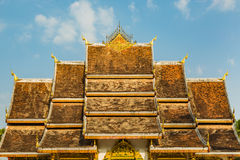 Haw Pha Bang roof Royalty Free Stock Photography