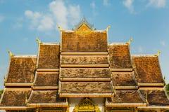 Haw Pha Bang roof Royalty Free Stock Photography