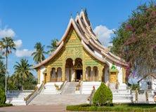 Haw Pha Bang temple in Luang Prabang Royalty Free Stock Photography