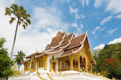 Haw Pha Bang temple in Luang Prabang in Laos Royalty Free Stock Image