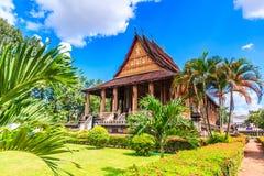 Haw Pha Kaeo lub Wat Pha Kaeo w Laos obrazy royalty free