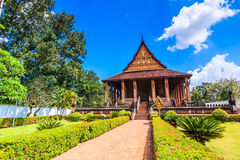 Haw Pha Kaeo or Wat Pha Kaeo in Laos Royalty Free Stock Images