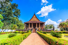 Haw Pha Kaeo or Wat Pha Kaeo in Laos Royalty Free Stock Image