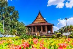 Haw Pha Kaeo or Wat Pha Kaeo in Laos Stock Image