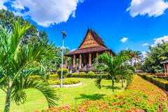 Haw Pha Kaeo or Wat Pha Kaeo in Laos Stock Photo
