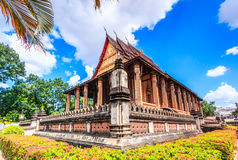 Haw Pha Kaeo or Wat Pha Kaeo in Laos Royalty Free Stock Photography