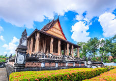 Haw Pha Kaeo or Wat Pha Kaeo in Laos Stock Images