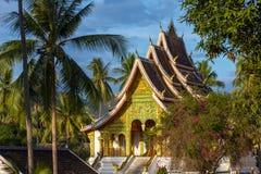 Haw Pha uderzenia świątynia w Luang Prabang fotografia royalty free