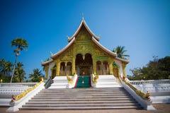 Haw Pha uderzenie wewnątrz w Luang Prabang obraz stock