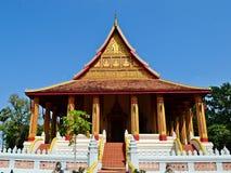 Haw Phra Kaew świątynia Zdjęcia Royalty Free