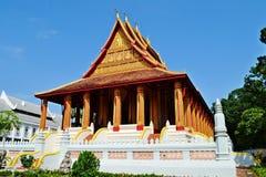Haw Phra Kaew świątynia Obrazy Royalty Free