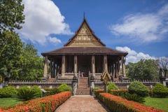 Haw Phra Kaew, obraz stock