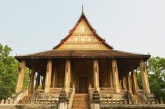 Haw Phra Kaew budynek w Vientiane, Laos Zdjęcie Stock