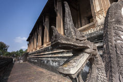 Haw Phra Kaew jest poprzednim świątynią w Vientiane, Laos zdjęcia royalty free