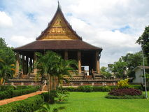 Haw Phra Kaew temple in Vientiane Royalty Free Stock Images