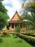Haw Phra Kaew temple in Vientiane Royalty Free Stock Photo