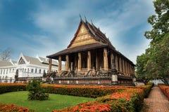 Haw Phra Kaew, Vientiane, Λάος. Στοκ Εικόνες