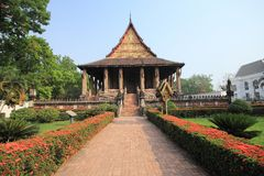 Haw Phra Kaew Royalty Free Stock Photography