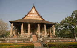 Haw Phra Kaew in Vientiane Stock Photo