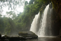 Haw Su wat waterfall in National park,Thailand. Royalty Free Stock Photo