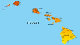 Hawaï illustration stock