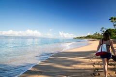 Hawaï, Maui, Kaanapali stock afbeeldingen