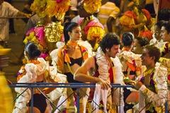 Hawański karnawał: Fermata dla radości obraz stock