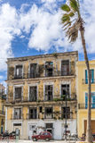 Hawański, Kuba, Luty - 10, 2016: Dom w Hawańskim Obraz Stock