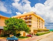 HAWAŃSKI, KUBA, SIERPIEŃ - 30, 2015: Historyczny hotel Zdjęcia Stock