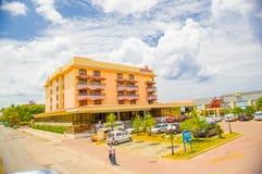 HAWAŃSKI, KUBA, SIERPIEŃ - 30, 2015: Historyczny hotel Zdjęcie Stock
