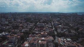 HAWAŃSKI panoramiczny widok 33 podłogowego restaurantThe starej ulicy główny plac mieszkanowie zdjęcie wideo