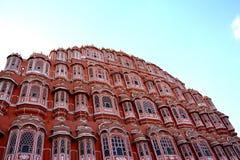hawa印度mahal的斋浦尔 库存照片