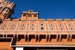 Hawa玛哈尔宫殿在斋浦尔, 免版税库存图片