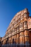 Hawa玛哈尔宫殿在斋浦尔 免版税库存照片