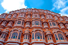 Hawa玛哈尔宫殿(风的宫殿),斋浦尔,拉贾斯坦,印度 库存照片