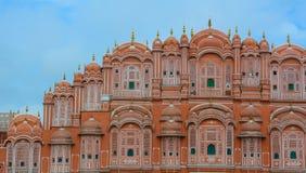 Hawa玛哈尔风宫殿在斋浦尔,印度 库存照片