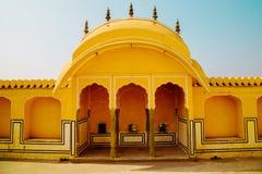 Hawa玛哈尔,风的宫殿在斋浦尔,印度 免版税库存照片